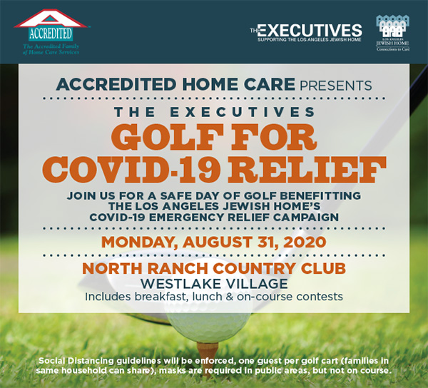 ACCREDITED HOME CARE PRESENTS THE EXECUTIVES GOLF FOR COVID-19 RELIEF